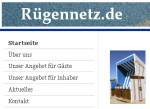 Das Infonetz für die Insel Rügen